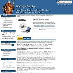 OpenERP mis en ligne sur un serveur partagé gratuit