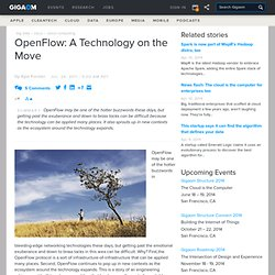 OpenFlow: A Technology on the Move — Cloud Computing News
