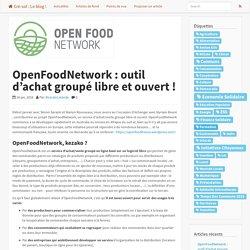 OpenFoodNetwork : outil d'achat groupé libre et ouvert !