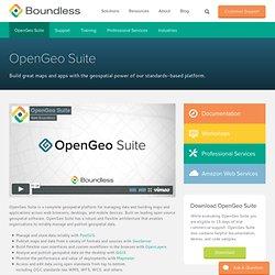 OpenGeo Suite