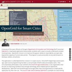 OpenGrid for Smart Cities