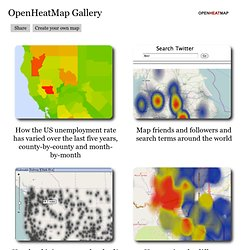 OpenHeatMap Gallery