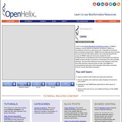Online Mendelian Inheritance in Man (OMIM): A database of human genes, genetic diseases and disorders