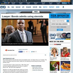 Opening statement delivered in Barry Bonds' perjury trial
