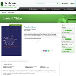 Opening Minds - Stenhouse Publishers