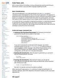 OpenJDK: jmh