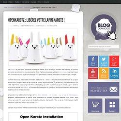 OpenKarotz : Libérez votre lapin Karotz !