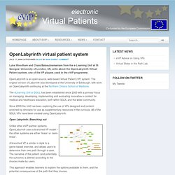 OpenLabyrinth virtual patient system