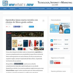 OpenLibra lanza nueva versión con cientos de libros gratis online