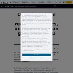 OpenLux: faire parler des registres publics, une enquête d'un genre nouveau