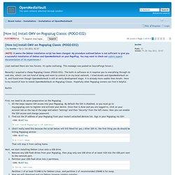 OpenMediaVault - Debian Squeeze