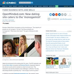 OpenMinded.com: New dating site caters to the 'monogamish'