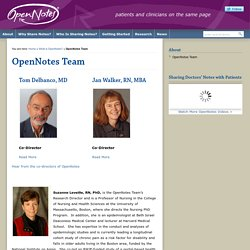 OpenNotes Team : OpenNotes