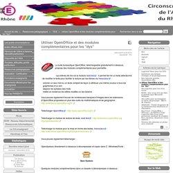"""Utiliser OpenOffice et des modules complémentaires pour les """"dys"""" - Site de l'ASH du Rhône"""