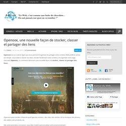 Openoox, une nouvelle façon de stocker, classer et partager des liens