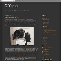DIYcrap: OpenPanTilt electronics