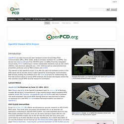 Passive RFID Project - OpenPCD