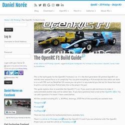 The OpenRC F1 Build Guide - Daniel Norée
