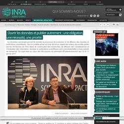 OpenScience, Ouvrir les données et publier autrement