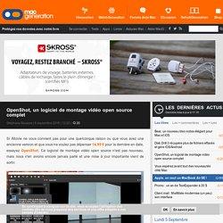 OpenShot, un logiciel de montage vidéo open source complet