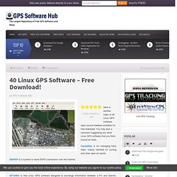 Linux GPS Software & Linux Opensource GPS Applications