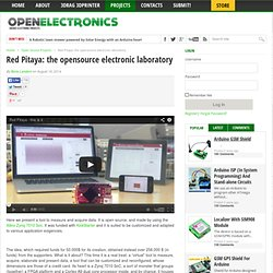 Red Pitaya: the opensource electronic laboratory