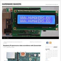 ZONEMINDER Raspberry PI opensource video surveillance