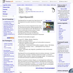 OpenSpace3D - Créer & Éditer
