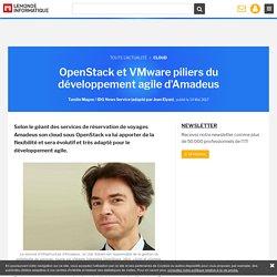 OpenStack et VMware piliers du développement agile d'Amadeus