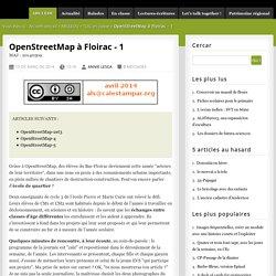 OpenStreetMap à Floirac - 1 - Calestampar.org