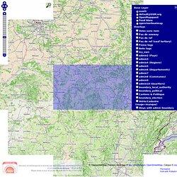 layers.openstreetmap.fr - Tuiles pour contrôle de données / Tile service with data checks