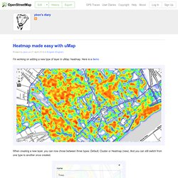 Heatmap made easy with uMap