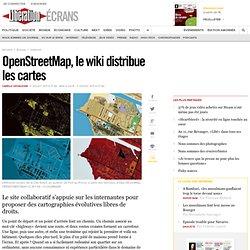 OpenStreetMap, le wiki distribue les cartes