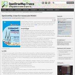 La base d'un nouveau plan Michelin - clermont ferrand