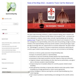 OpenStreetMap Foundation | Supporting the OpenStreetMap project