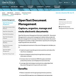 ECM Suite - Document Management (DM)