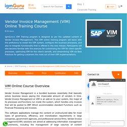 SAP OpenText VIM Training Online