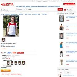 Opentip.com: LAT 3637 Jr Football T-Shirt