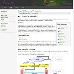 OpenVZ Proxmox Virtualization