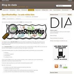 OpenWeatherMap : la carte météo libre