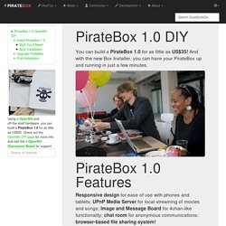 openwrt:diy [ PIRATEBOX]