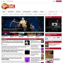 BWW Opera World - Covering Everything Opera!