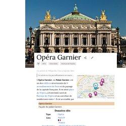 OPERA GARNIER - (Article Wiki)