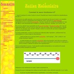 Opéra Savon: Action Moléculaire