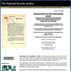 Operación Cóndor en el Archivo del Terror
