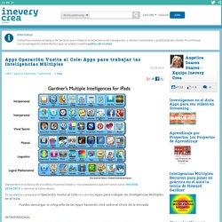 Apps Operación Vuelta al Cole: Apps para trabajar las Inteligencias Múltiples