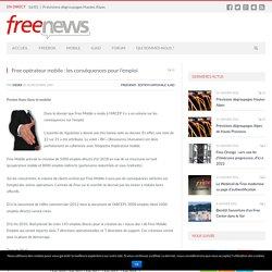 Free opérateur mobile : les conséquences pour l'emploi