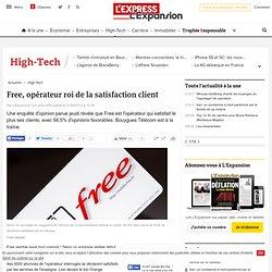Free, opérateur roi de la satisfaction client