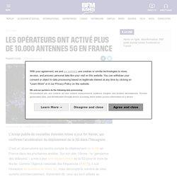 Les opérateurs ont activé plus de 10.000 antennes 5G en France