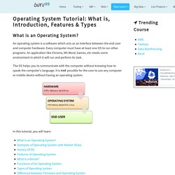 Operating System Tutorial: What is, Introduction, Features & Types